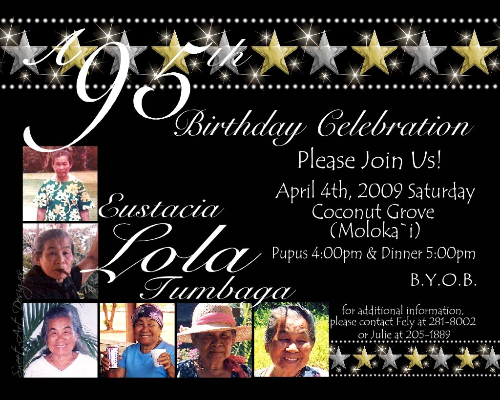 Fun Themes Celebrations 95th Birthday Celebration