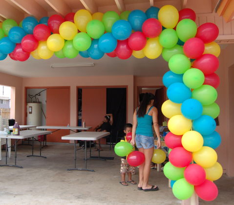 Balloon Arch Column Decorations | Sweet-Art Designs Creative