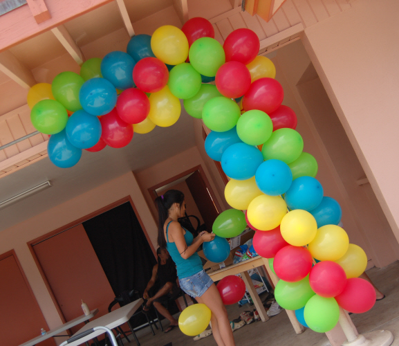 Balloon Decorations Start | Sweet-Art Designs Creative ideas
