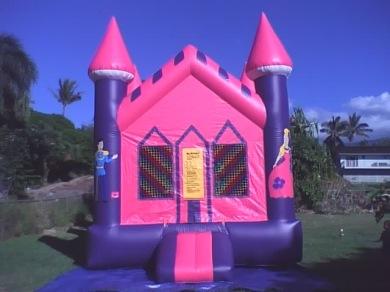 Ilianas Princess Castle Bouncer Maui