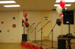 Helium Balloons - Stage Decorations