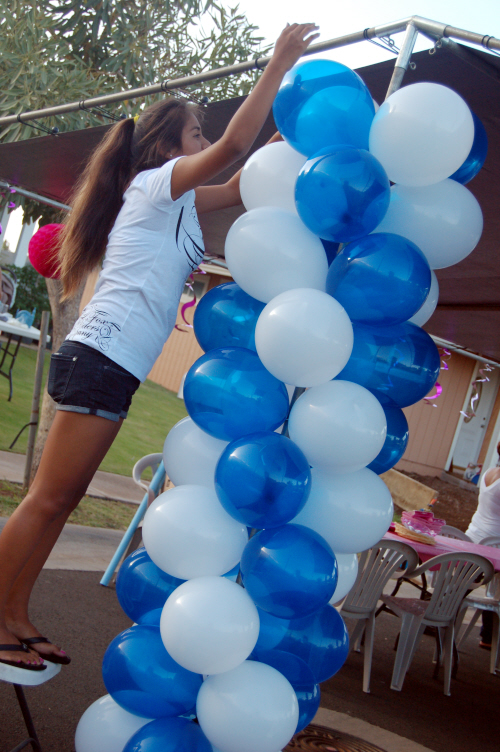 Balloon arch sweet art designs creative ideas from for Balloon column decoration