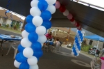 0942 Balloon Columns - Balloon Arch Decoration - Graduation Party - Sweet Sixteen