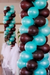 Wedding Head Table Balloon Decor 876