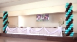 Wedding Reception Balloon Decor Kihei Community Center 0880
