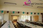 kahului community center hall balloon simple decor 0110