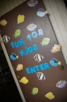 idea for Ocean theme Party - Kids fun room 0136