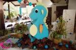 seahorse birthday party card money box 0154