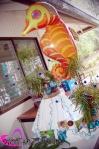 seahorse party balloon 0163