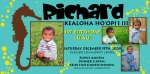 Ricky Boy Invitation Seahorse Birthday Theme