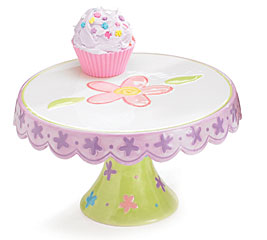 Cupcake Stand Cake Plate Flower Plate
