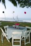 DSC_1163 Zebra Round Table Beach Setting