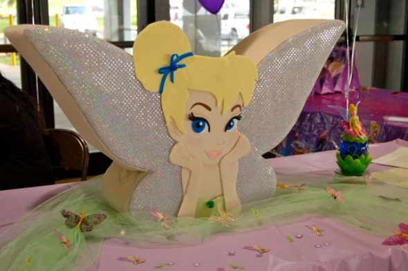 Tinkerbell Money Card Box First Birthday