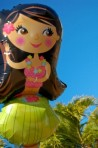 Hula Girl Theme Balloon DSC_1602-1