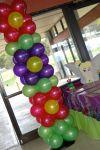 Sweet-Art Designs Flower Balloon Columns