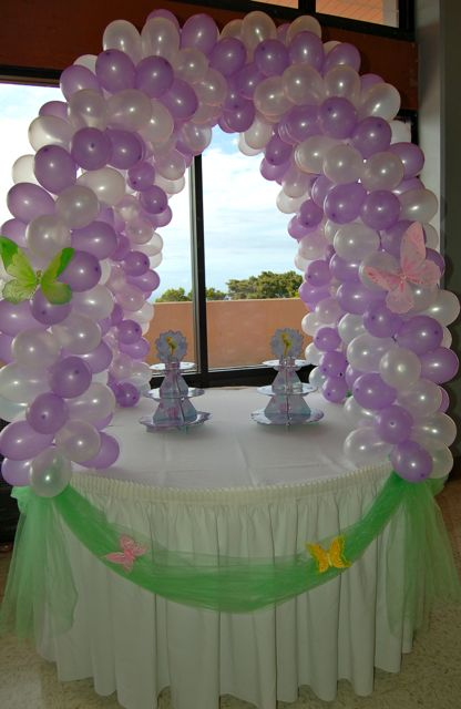 Brookie S Tinkerbell Birthday Balloon Decorations