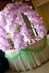 Cake Table Balloon Decoration