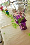 Tinkerbell Pixie Stick Centerpiece