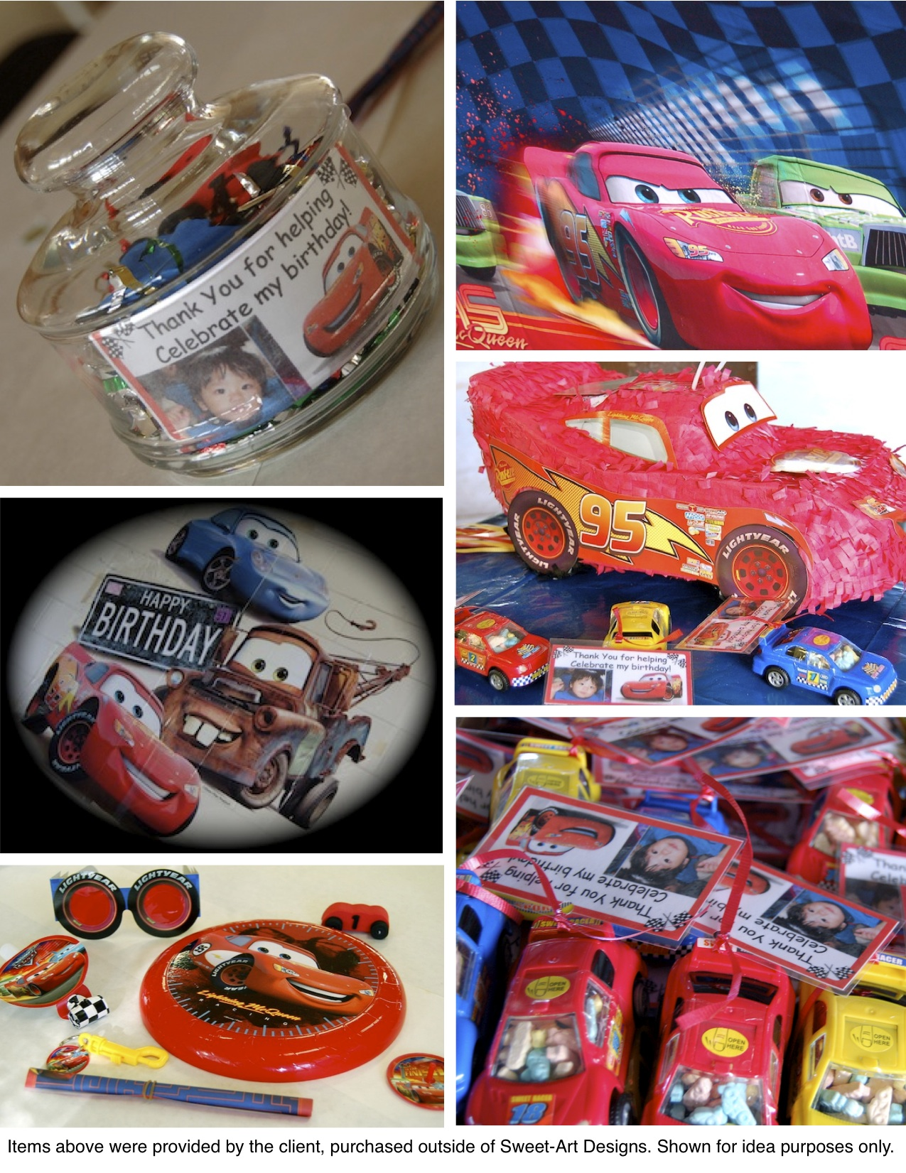 Race Car Lightning McQueen Birthday