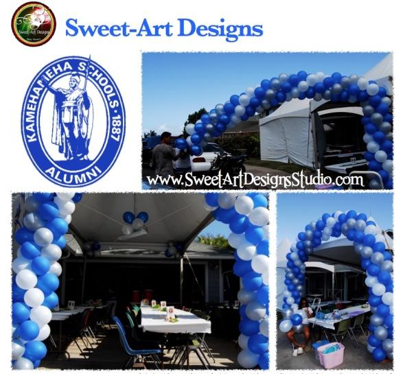 Kamehameha Schools Grad Arch Sweet-Art Designs