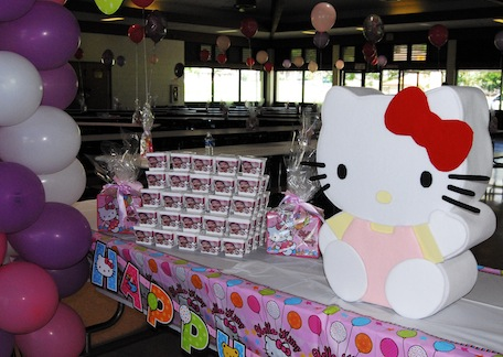 Hello Kitty Party Balloons & Card Box