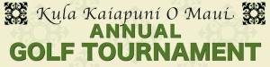 sample 2ft x 8ft Kaiapuni Banner golf tournament