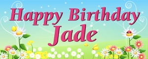 Sample 4ft x 10ft Banner - Spring Jade v4
