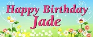 Sample 4ft x 10ft Banner - Spring Jade v4