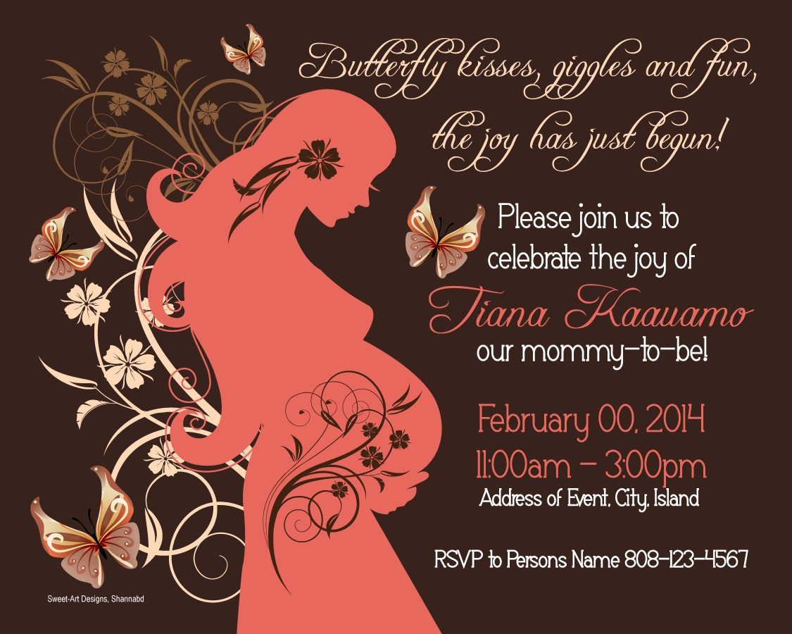 baby shower invitation | Sweet-Art Designs... Creative ideas from ...