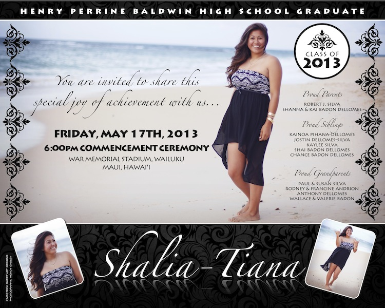 Graduation invitation sweet art designs creative ideas from the sample 6 x 75 shalia graduation filmwisefo