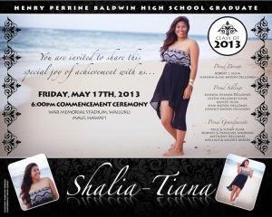 Sample 6 x 7.5 Shalia Graduation