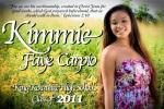 sample Graduation Foam Board - Kimmie